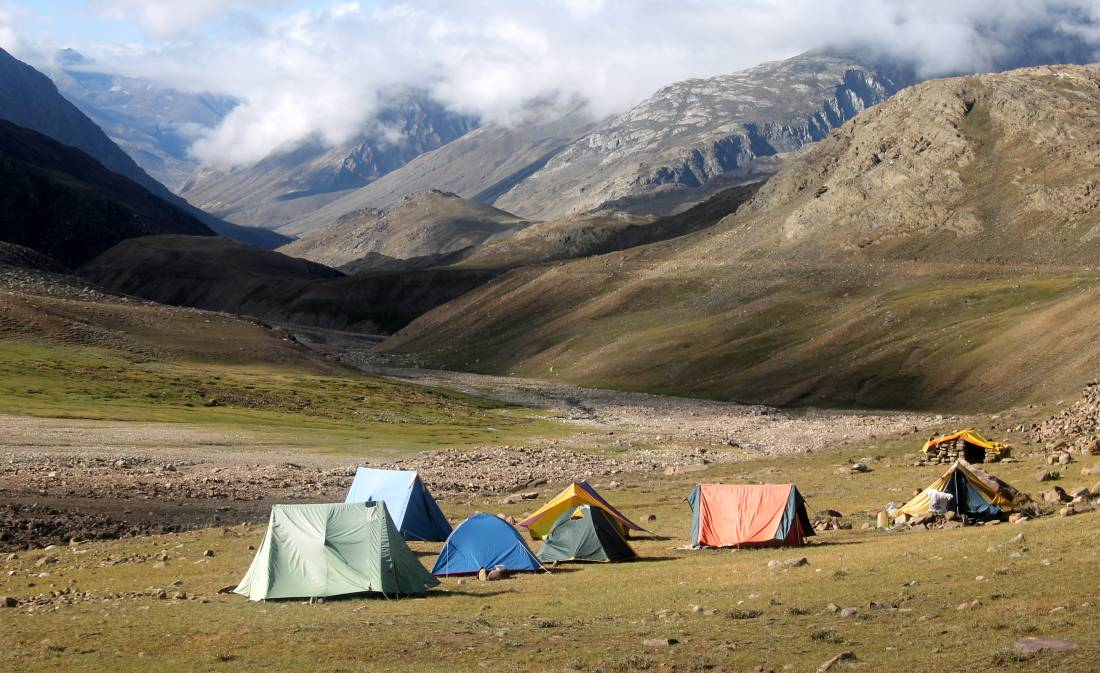 Chandrataal lake campsite