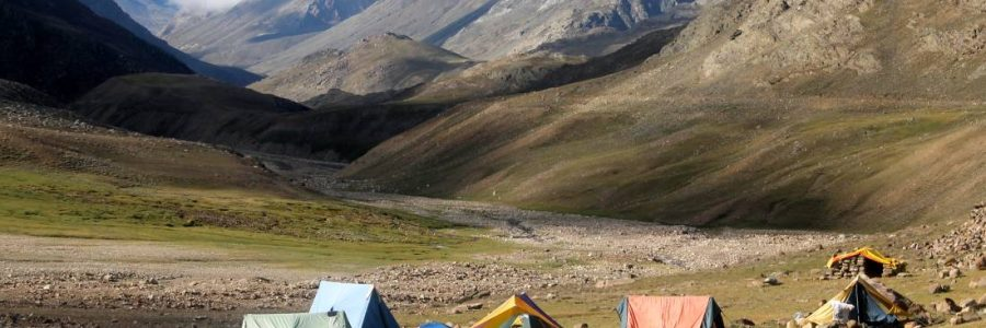 Chandrataal lake campsite