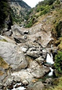 Dharmkot Waterfall hike. Mcleodganj